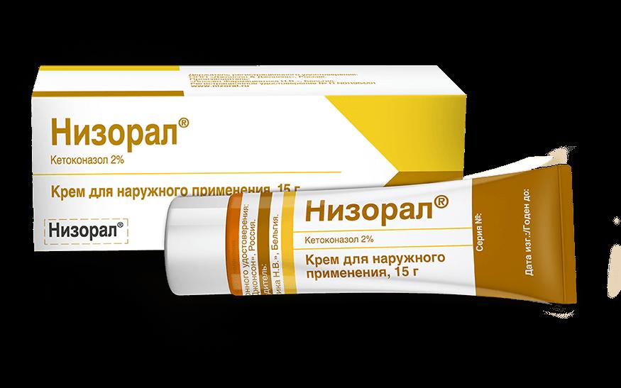 Крем для наружного применения НИЗОРАЛ<sup>®</sup>